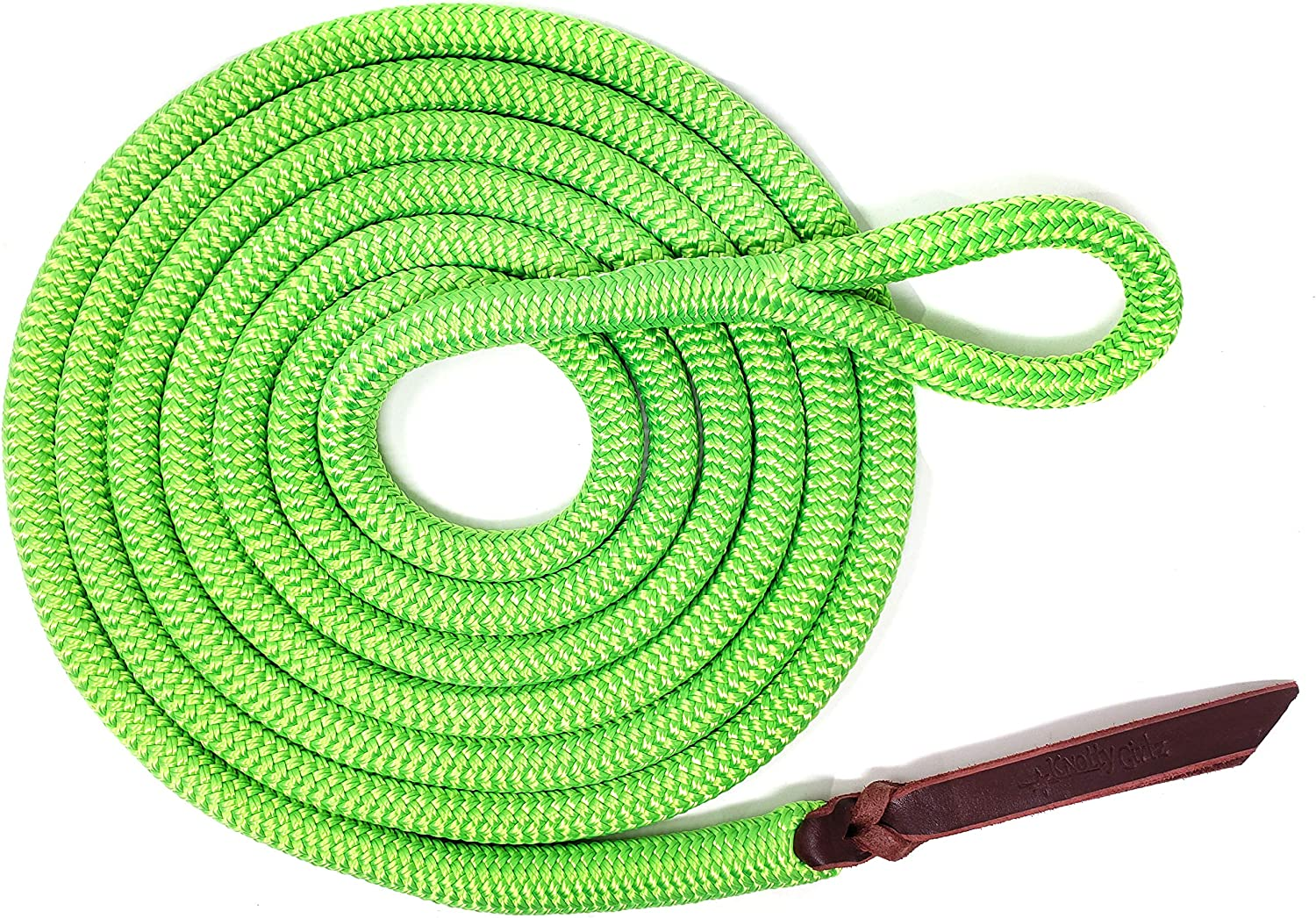 Knotty Girlz 9 16 Double Braid Lead N Popular products Rope Yacht Polyester Tampa Mall Horse