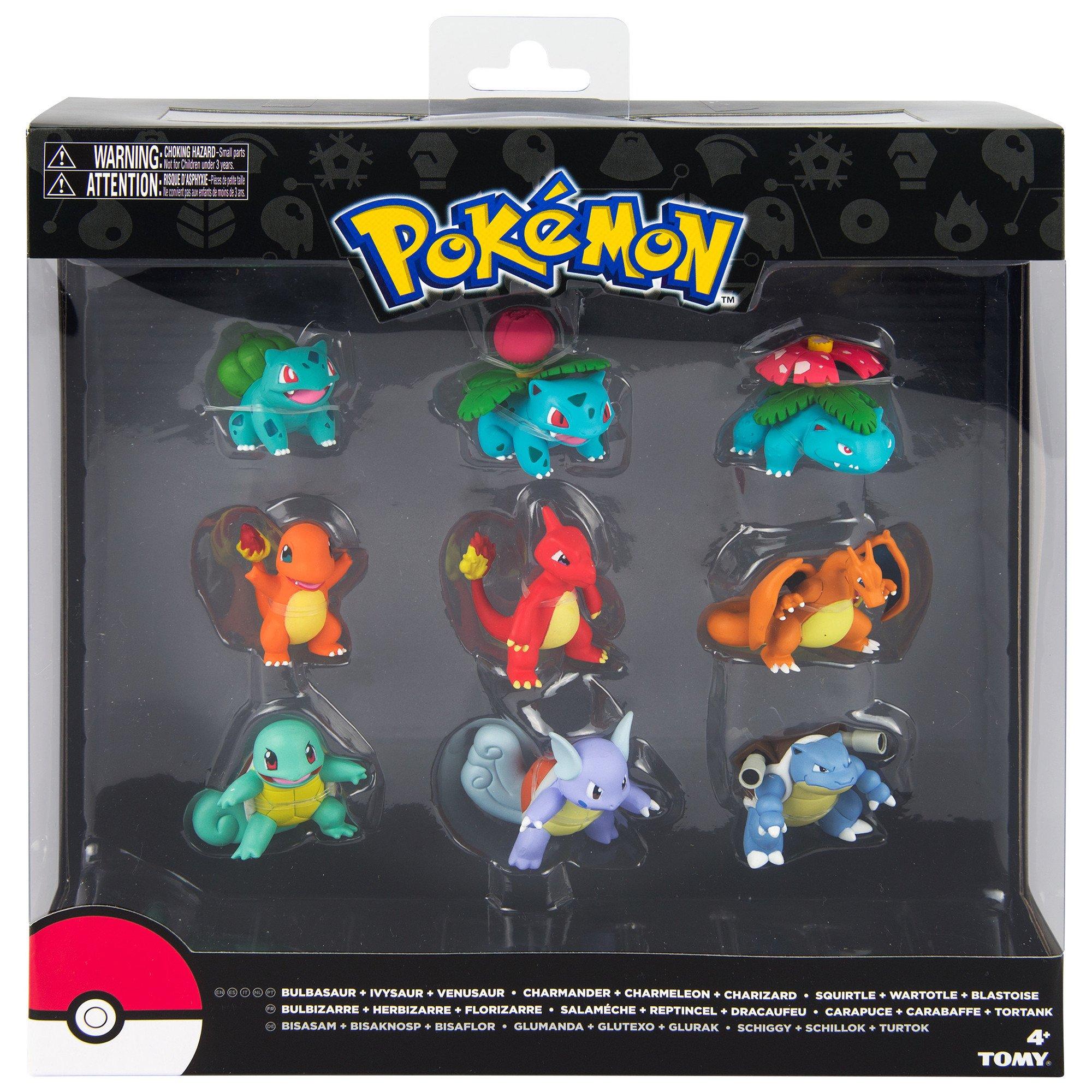 TOMY Pokémon Multi evolución Figura Pack: Amazon.es: Juguetes y juegos