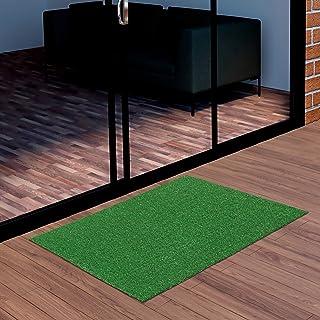 """Best Ottomanson Evergreen Artificial Turf Door Mat, 20""""X30"""", Green Review"""