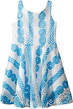 fiveloaves twofish Crochet Skater Dress (Big Kids)