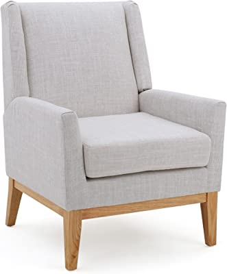 Living Room Accent Chair Natural Birch Wood