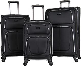 Kenneth Cole Reaction 'Lincoln Square' Softside 3-Piece 4-Wheel Spinner Luggage Set: 20