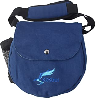 Kestrel Disc Golf Bag | Fits 6-10 Discs + Bottle | for Beginner and Advanced Disc Golf Players | Extremely Durable Canvas | Disc Golf Bag Set | Small Disk Golf Bag