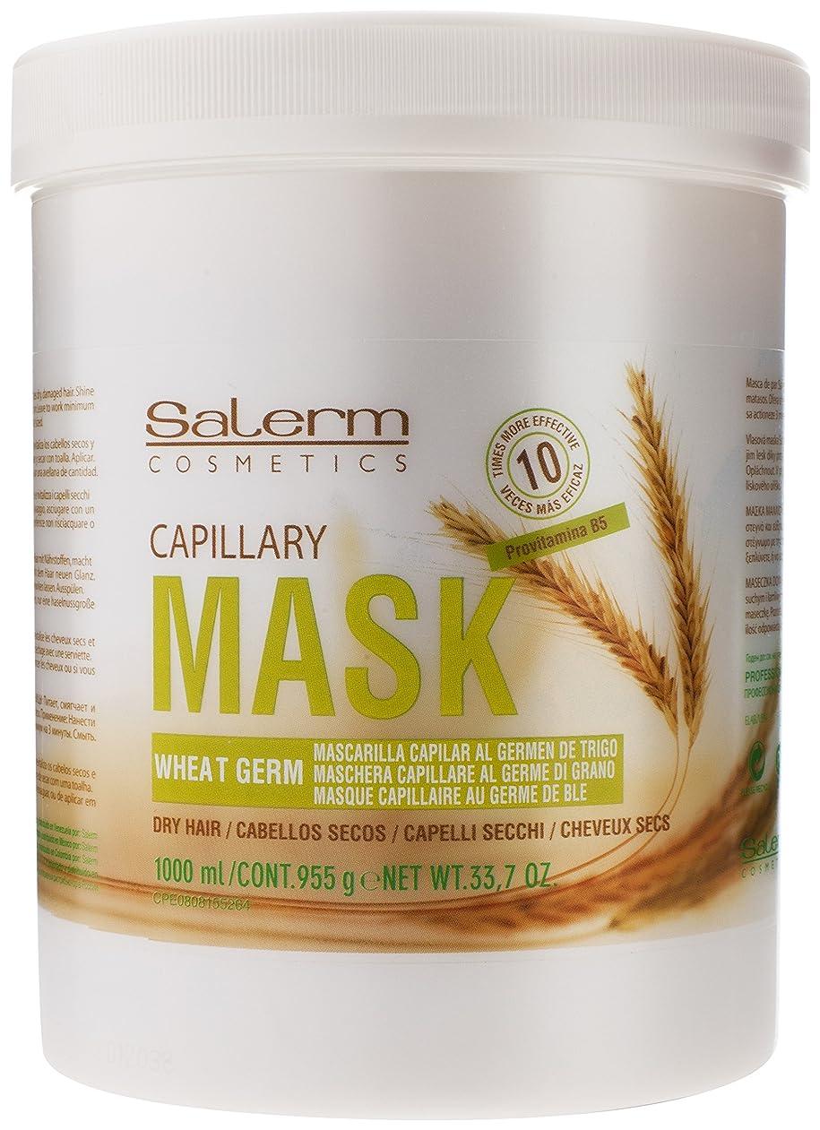 手がかりアデレードメーカーSalerm 小麦胚芽Mascarilla Capilarコンディショニングトリートメント、33.7オンス