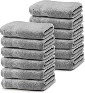 """Microdry 100% Cotton Luxurious Wash Cloth with Enhanced Airsoft Technology 