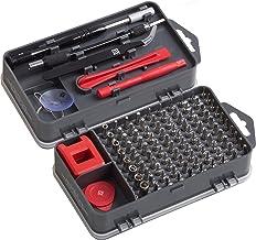 Meister 3387780 Fijnmonteurset 108-delig - reparatieset voor smartphones, tablets, pc's, consoles, camera's, horloges, bri...