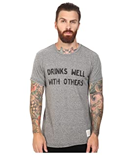 Drinks Well With Other Short Sleeve Tri-Blend Tee