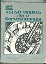 Official 1974-1977 Yamaha XS650 Factory Service Manual