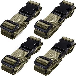حزام حقائب السفر قابل للتعديل من TRIWONDER من 4 حزم من 4 قطع