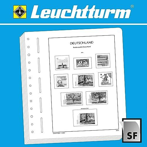 LEUCHTTURM SF-Feuilles préimprimées Suisse minifeuille, 2010-2013