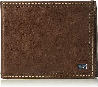 Men's RFID Security Blocking Passcase Wallet, One Size, Slimfold Wallet Tan