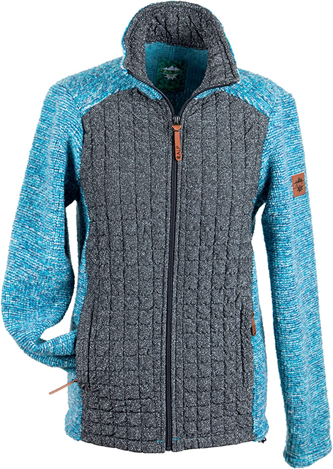 Alp by Brush Ladies WoolMix Jacket with LurexQuilt
