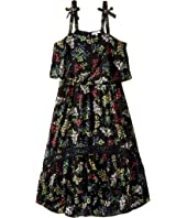 Ella Moss Girl - Allison Printed Rayon Dress (Big Kids)