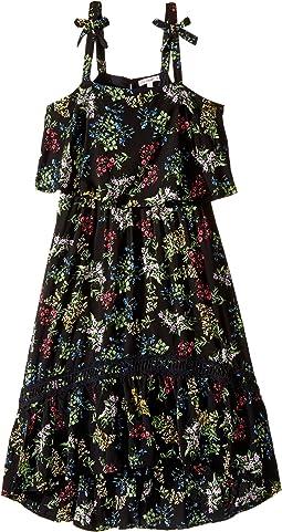 Allison Printed Rayon Dress (Big Kids)