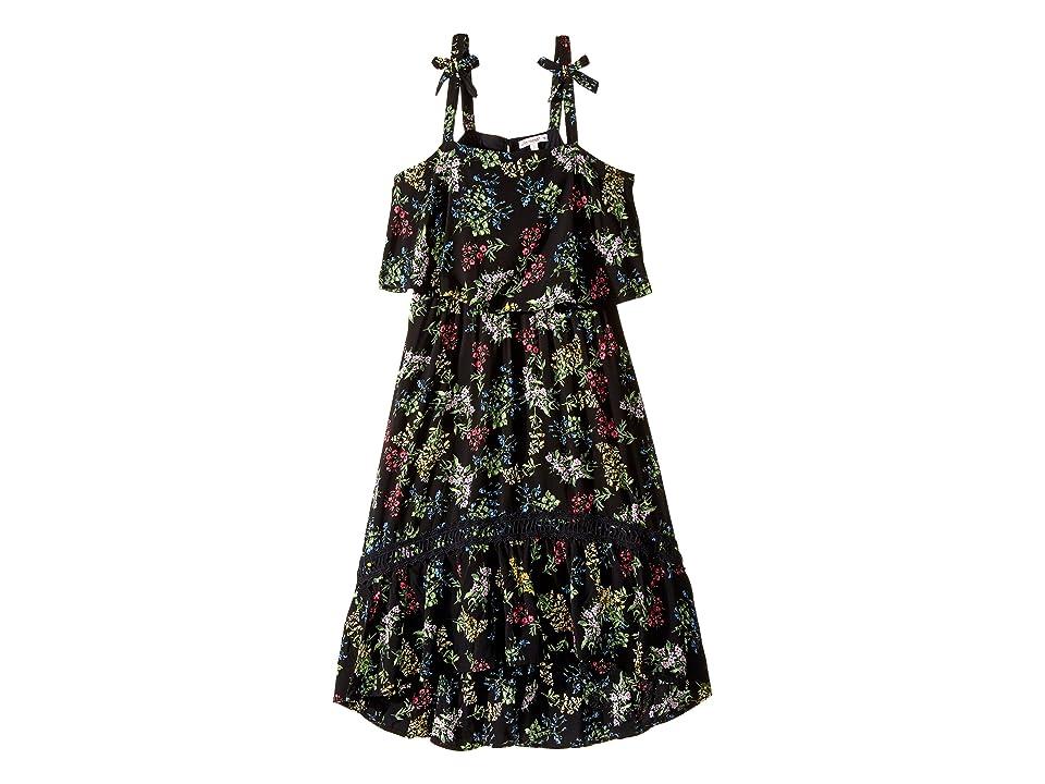 Ella Moss Girl Allison Printed Rayon Dress (Big Kids) (Print) Girl