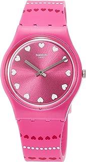 Womens Analogue Quartz Watch with Silicone Strap GP160