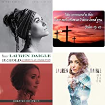 Lauren Daigle: Complete Studio Albums 3 CD Christian Collection with Bonus Art Card (How Can It Be / Behold / Look Up Child)