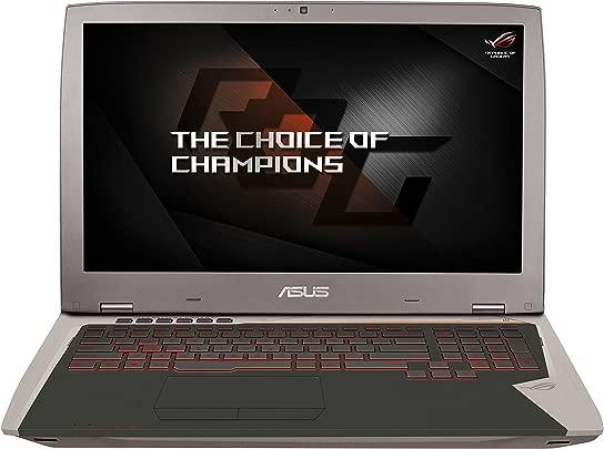 Asus ROG G701VI-BA032T 43 9 cm  17 3 Zoll mattes Full-HD Display  Gaming Laptop  Intel Core i7-6820HK  32GB Arbeitsspeicher  1024GB SSD  Nvidia GTX1080  Win 10  grau