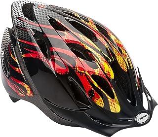 Schwinn Thrasher Casco de Bicicleta Ligero Microshell con Sistema de Comodidad de 360 Grados con Ajuste de dial, tamaños para Adultos, jóvenes y niños