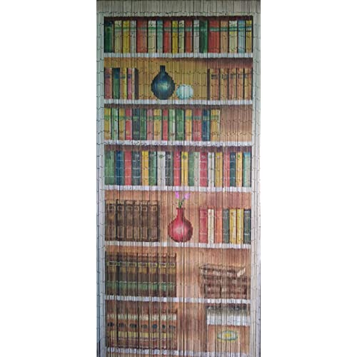 Charmant Bookcase Beaded Curtain 125 Strands (+hanging Hardware)