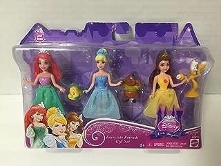 Disney Fairytale Friends Little Kingdom Gift Set Ariel, Cinderella, & Bell