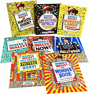 Where's Wally? The Worldwide Wow pack Collection 8 Books Set