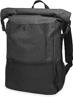 Gaiam Yoga Mat Bag Backpack | On-The-Move Roll Top Travel Carrier Daypack | Messenger Rucksack | Multiple Pockets, Laptop ...