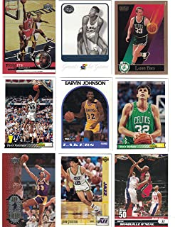 63750a1b408 Basketball Hall of Fame   25 Different Basketball Cards Featuring Icons  such as Michael Jordan