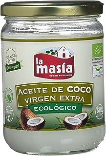 comprar comparacion La Masia - Aceite De Coco Virgen Extra Ecológico - 430 ml