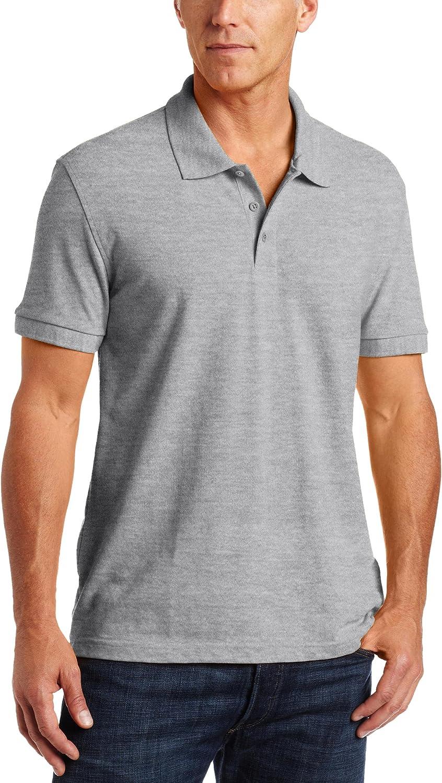 Classroom School Uniforms Classroom Men's Short Sleeve Pique Polo