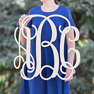 monogram wall hanging