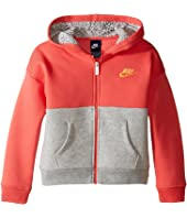 Nike Kids - Club Full Zip Hoodie Aop (Little Kids)