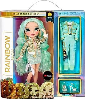 Rainbow High Modedocka – med 2 kläder för att kombinera och docktillbehör – fantastisk present till barn i åldern 6–12 år,...