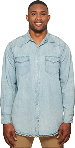 Polo Ralph Lauren - Big & Tall Oxford Denim Western Sport Shirt