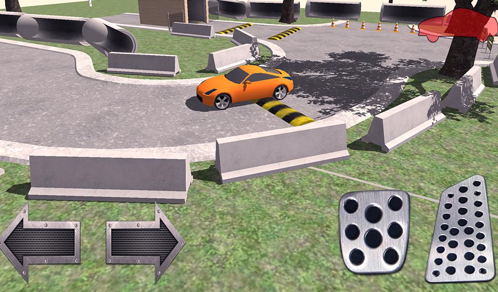 350Z Parking Test Simulator Free Edition