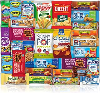 Healthy Snacks Care Package (Count 30) - Discover a whole new world of Healthy Snacks - Snack Variety Gift Basket Women Me...