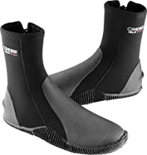 Cressi Tall Neoprene Boots for Snorkeling, Scuba Diving, Canyoning, available in Neoprene 5 & 7 mm - Isla: designed in Italy