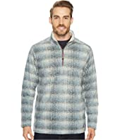 True Grit - Melange Blanket Plaid 1/4 Zip Pullover