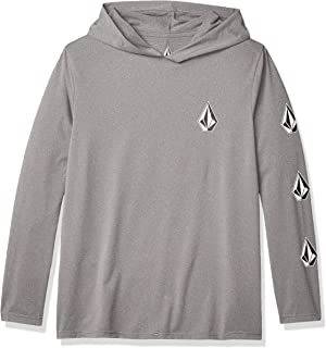 Volcom Men's Deadly Stones Long Sleeve Hooded Loose Fit Rashguard