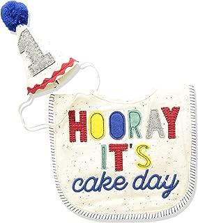 Mud Pie Baby Boys First Birthday Cake Smashing Set, Multi, One Size