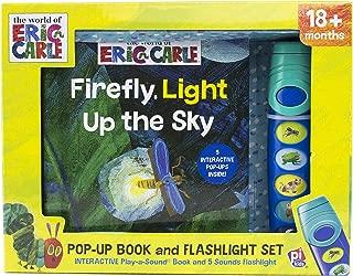 World of Eric Carle, Firefly, Light Up the Sky - Little Flashlight Pop-Up Adventure Book - Play-a-Sound - PI Kids