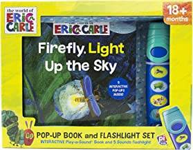 World of Eric Carle, Firefly, Light Up the Sky - Little Flashlight Pop-Up Adventure Book - Play-a-Sound - PI Kids
