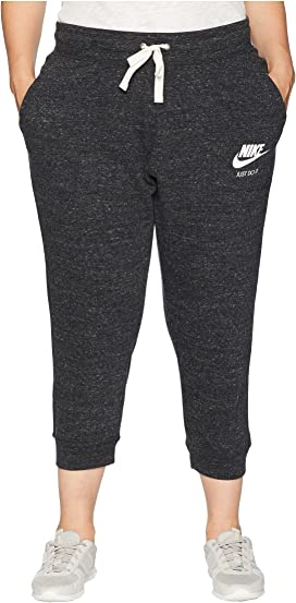 48041bccc7495 Nike Plus Size Gym Vintage Extended Pants at Zappos.com