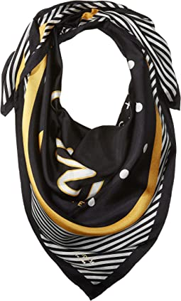 Kate Spade New York - Caviar Silk Square Scarf