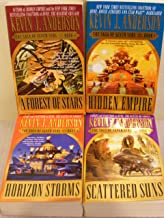 Saga of the Seven Suns, first 4 books: Hidden Empire + A Forest of Stars + Horizon Storms + Scattered Suns (The)