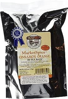 MarketSpice cinnamon-orange Teabags 50 Pack