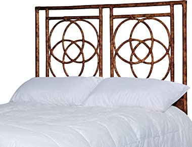 Inspired by David Francis Emmerson Headboard Queen Tortoise Shell