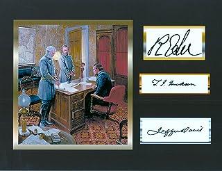 Jefferson Davis, Comfederate President, with Robert E. Lee & Stonewall Jackson, 8 X 10 Photo Display on Glossy Photo Paper