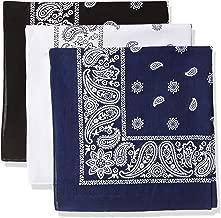 Levi's Men's 100% Cotton Bandana Headband Gift Sets
