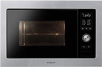 Oranier KMG 9802–980210empotrable Microondas con grill Acero inoxidable/negro